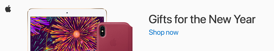 Celebrate the year to come with Apple. Shop now!