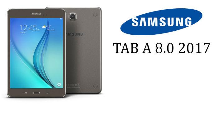 Samsung Galaxy Tab A 8.0 (2017) Specs Revealed Prior to ...